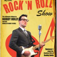 Buddy Holly Spencer J tickets and 2018 tour dates
